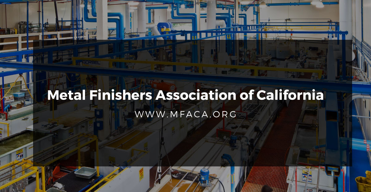 Metal Finishing Association of California